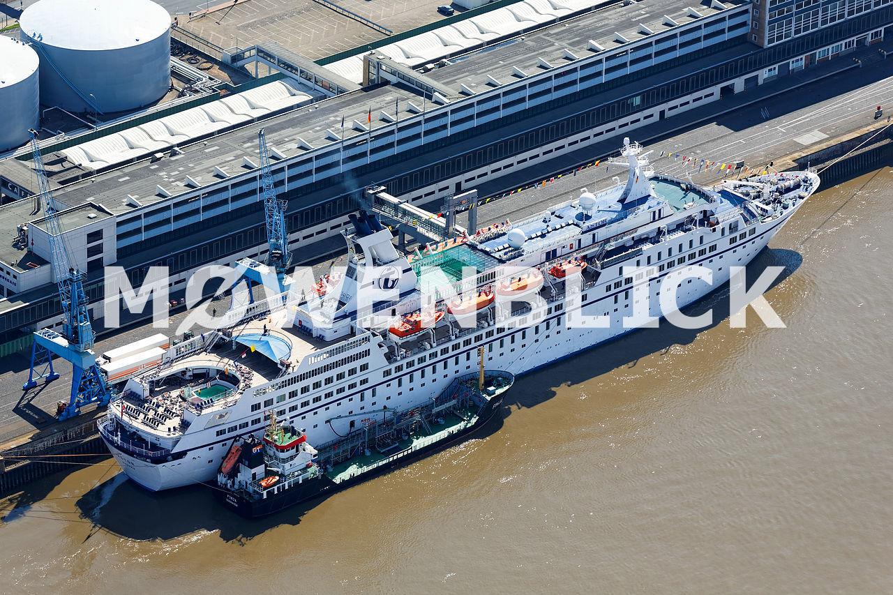 Astor Schiff Luftbild