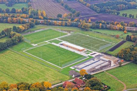 Sportplätze Neubau Rastede