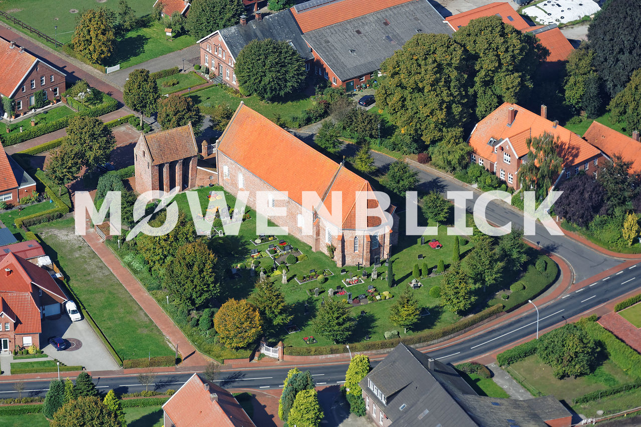 St.-Paulus Kirche Luftbild