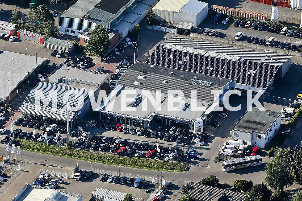 Autohaus Südbeck Luftbild