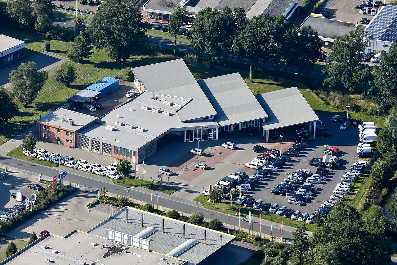 DB Autohaus Cloppenburg Luftbild