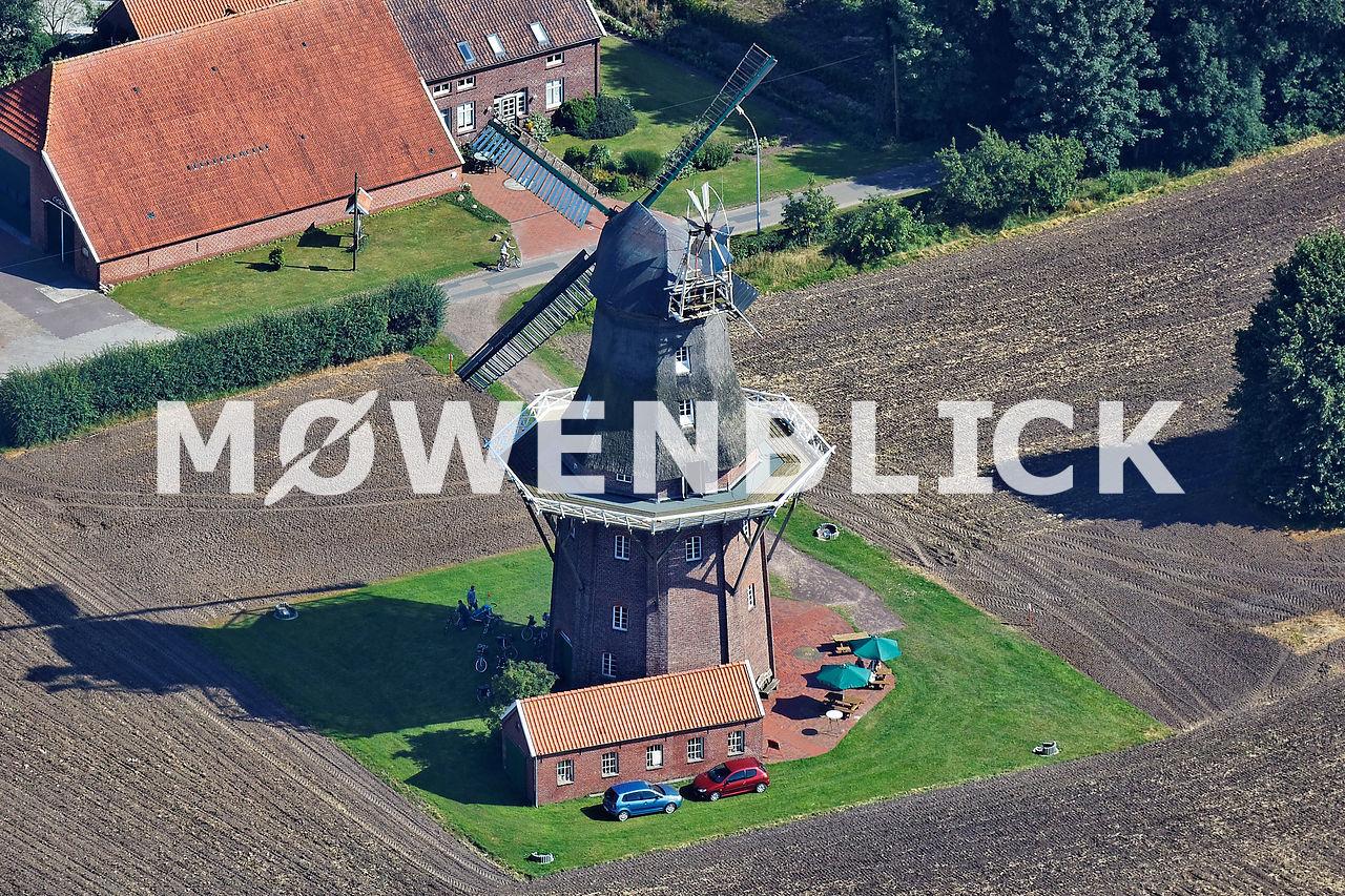 Holtlander Windmühle Luftbild