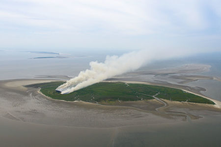 Brennende Insel Mellum