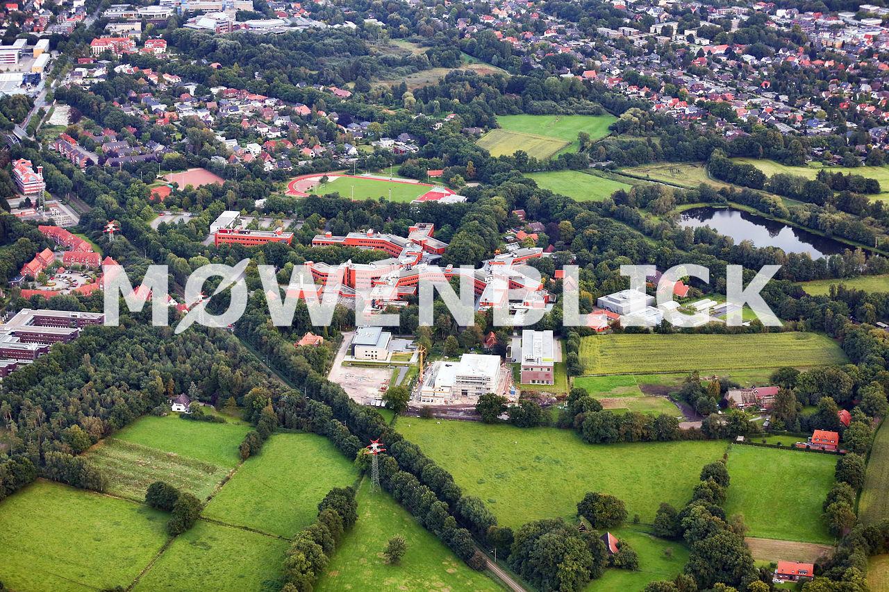 Campus Wechloy Luftbild