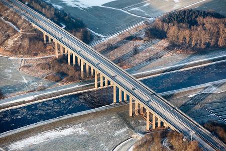 Autobahn über die Hunte
