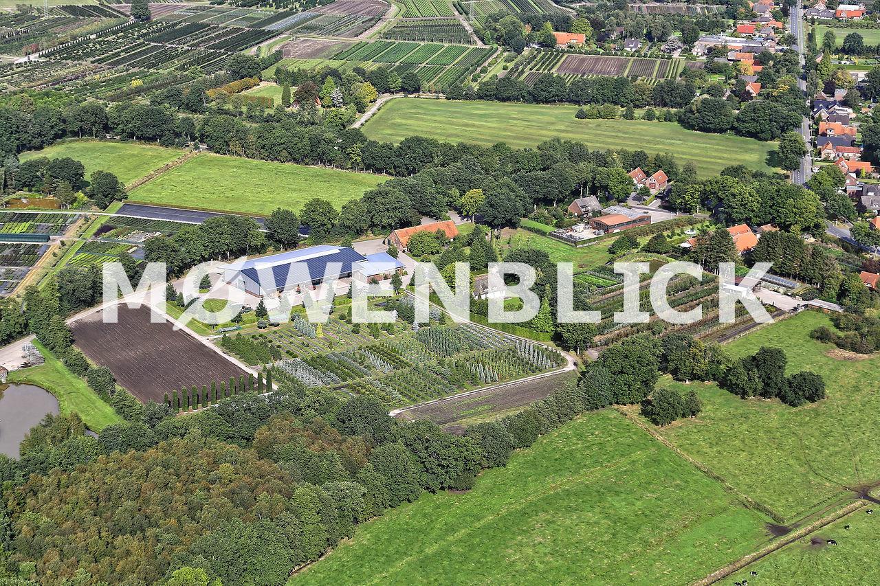 An den Feldkämpen Luftbild