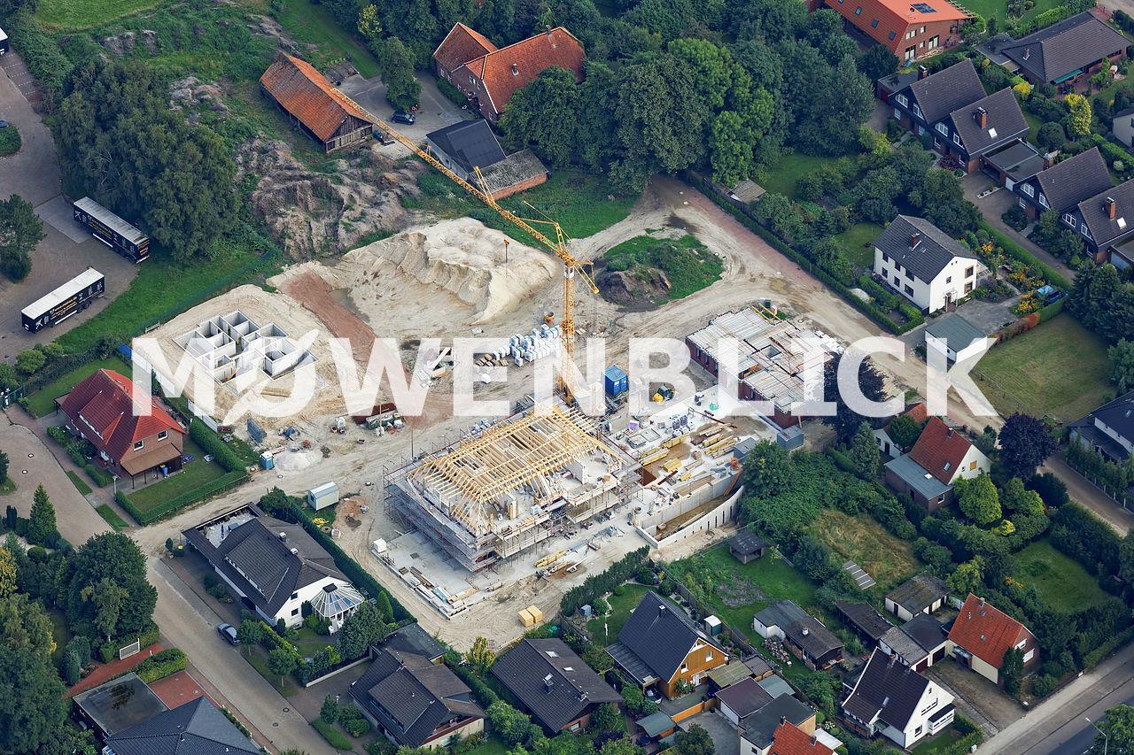 Isenkamp Baustelle Luftbild