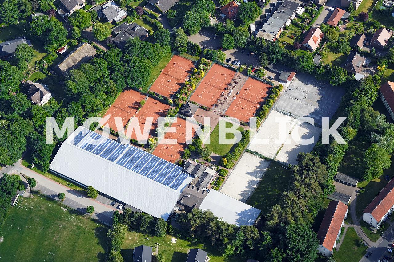 Tennis Club Blau Weiß Oldenburg Luftbild