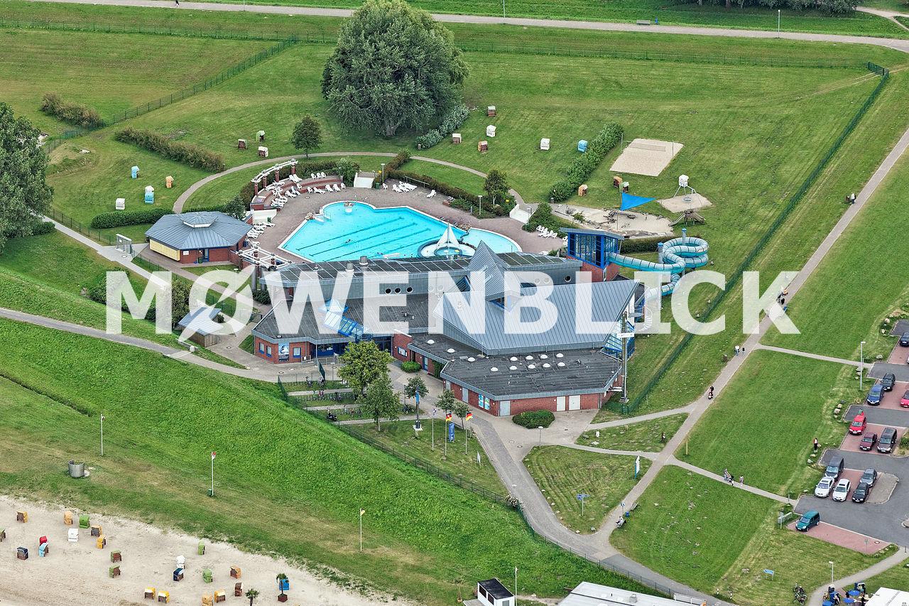 Quellbad Kurverwaltung Luftbild