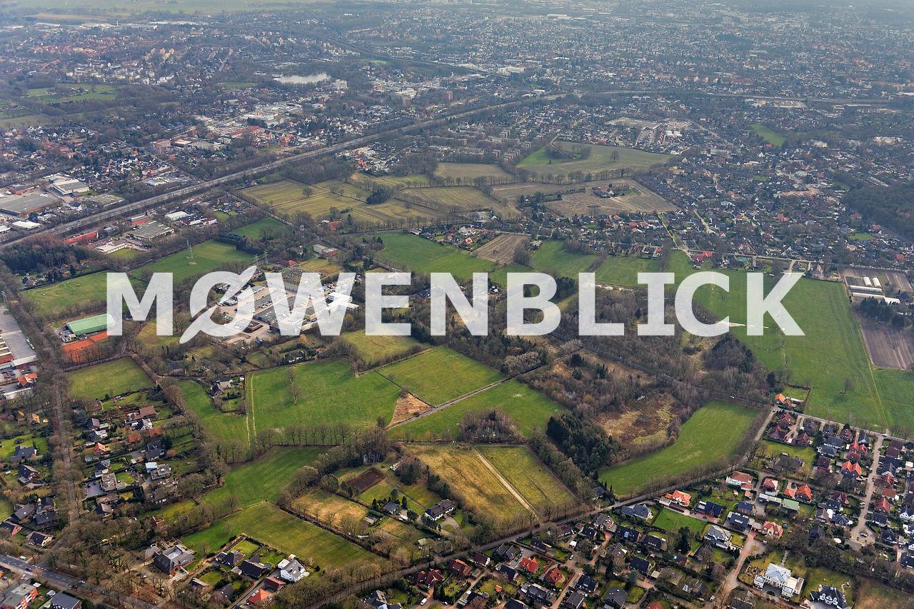 Weißes Moor Luftbild
