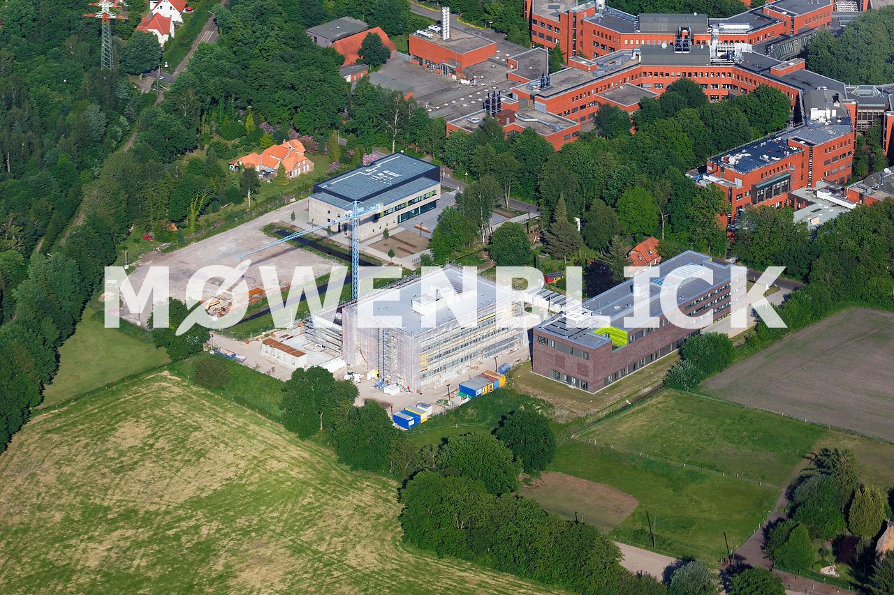 Forschungslabor Universität Luftbild