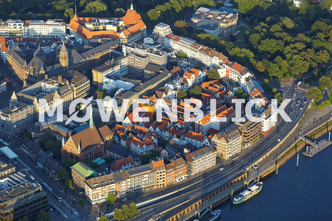 Schnoor Luftbild Luftbild