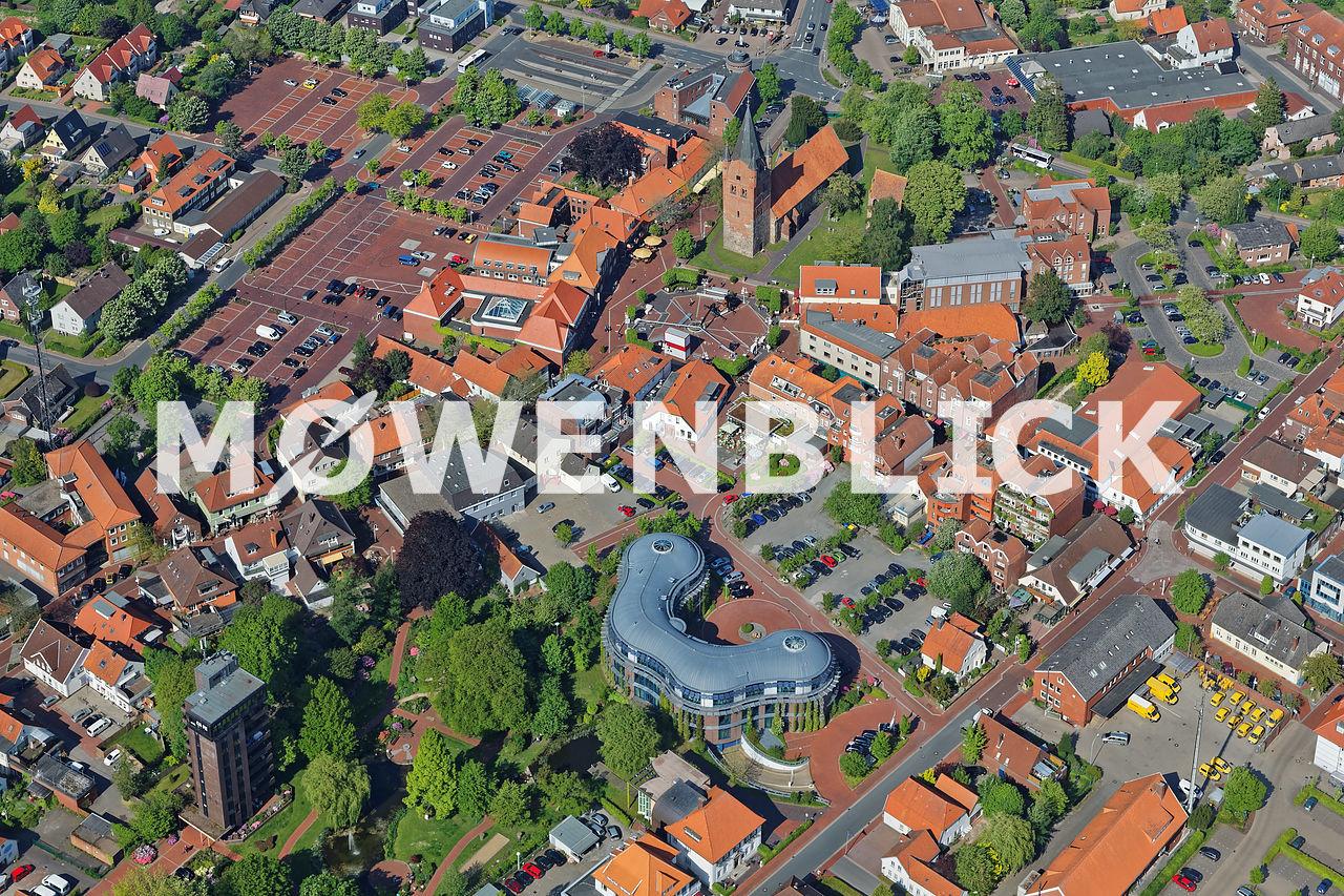 Innenstadt Zum Stadtpark Luftbild