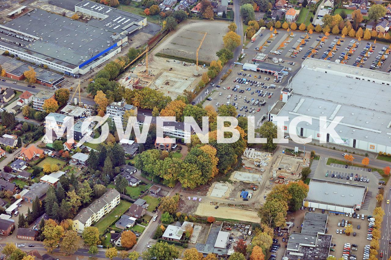 Baustellen in Kreyenbrück Luftbild