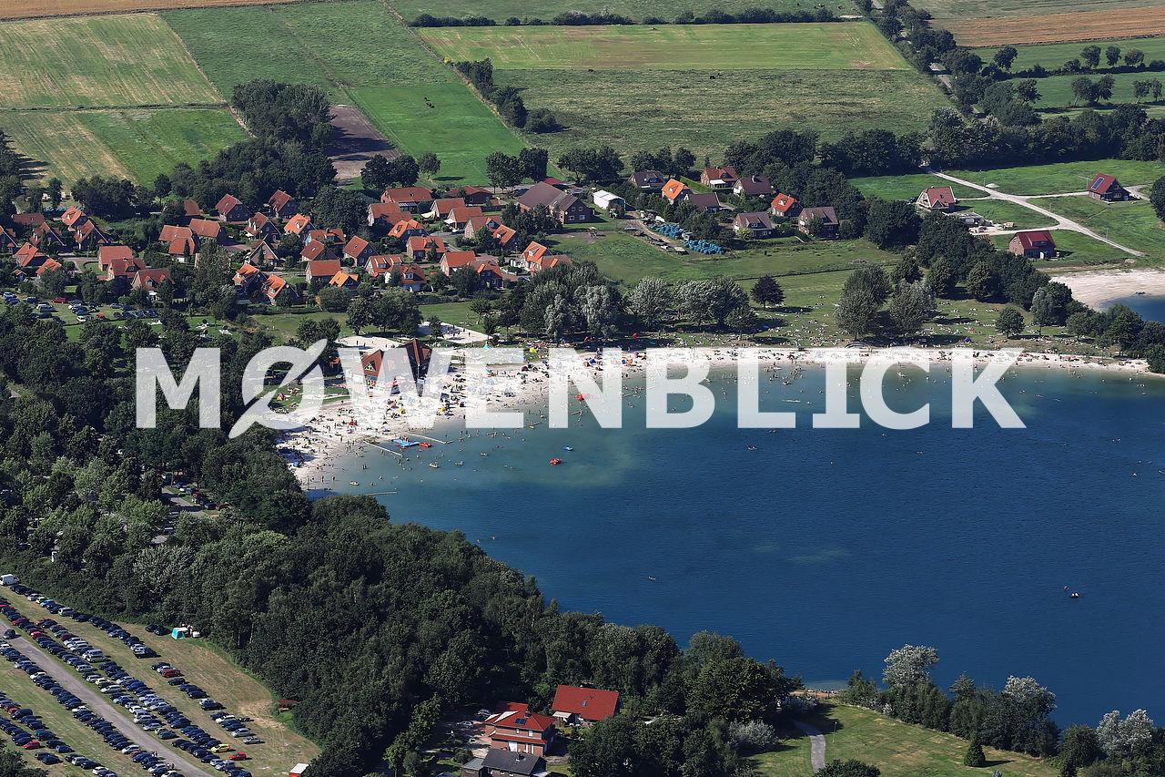 Badesee Tannenhausen Luftbild