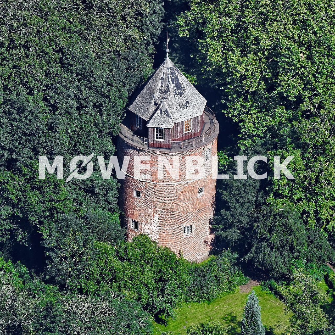 Burg Stickhausen Luftbild