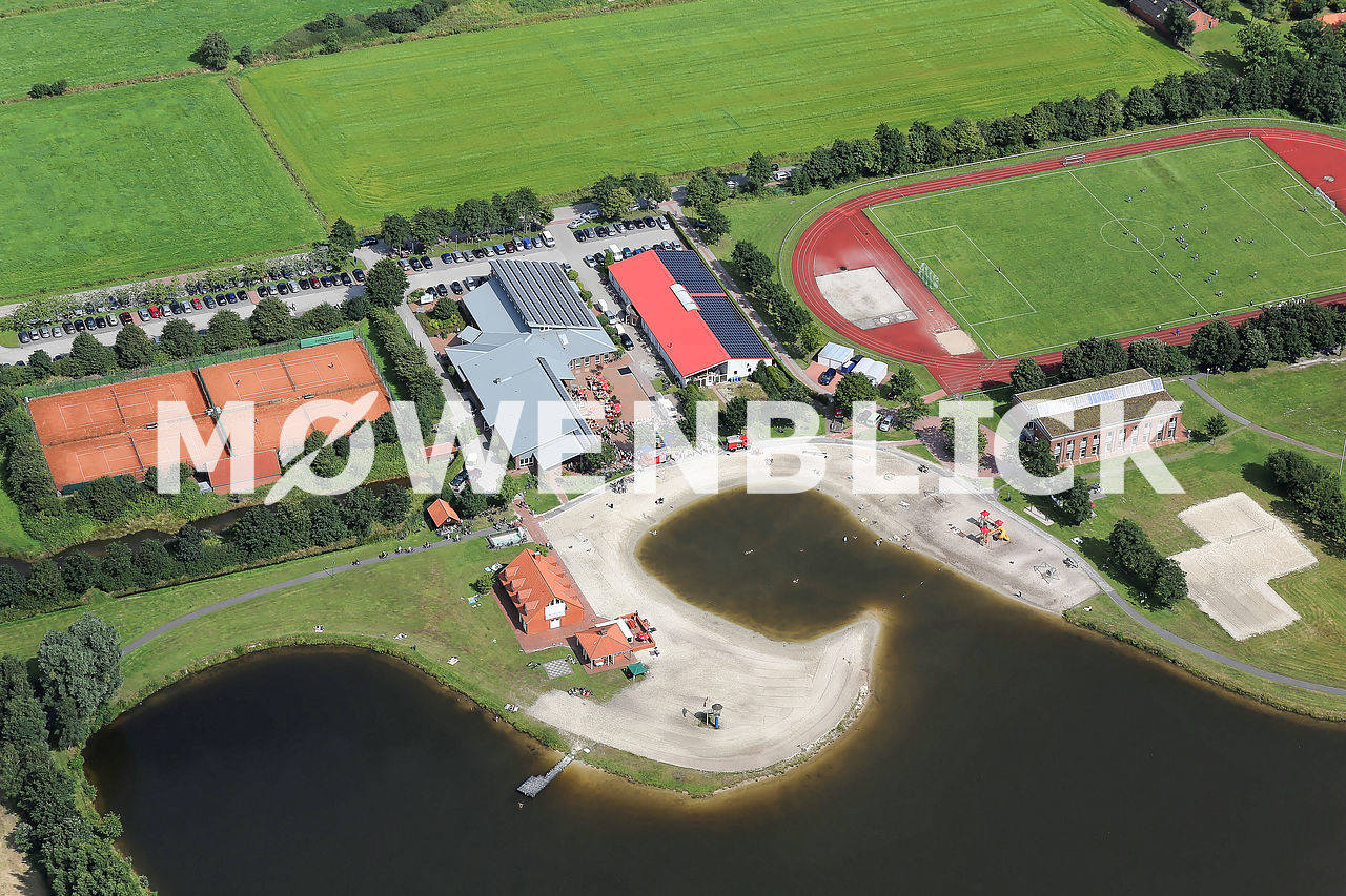Ihler Badesee Luftbild