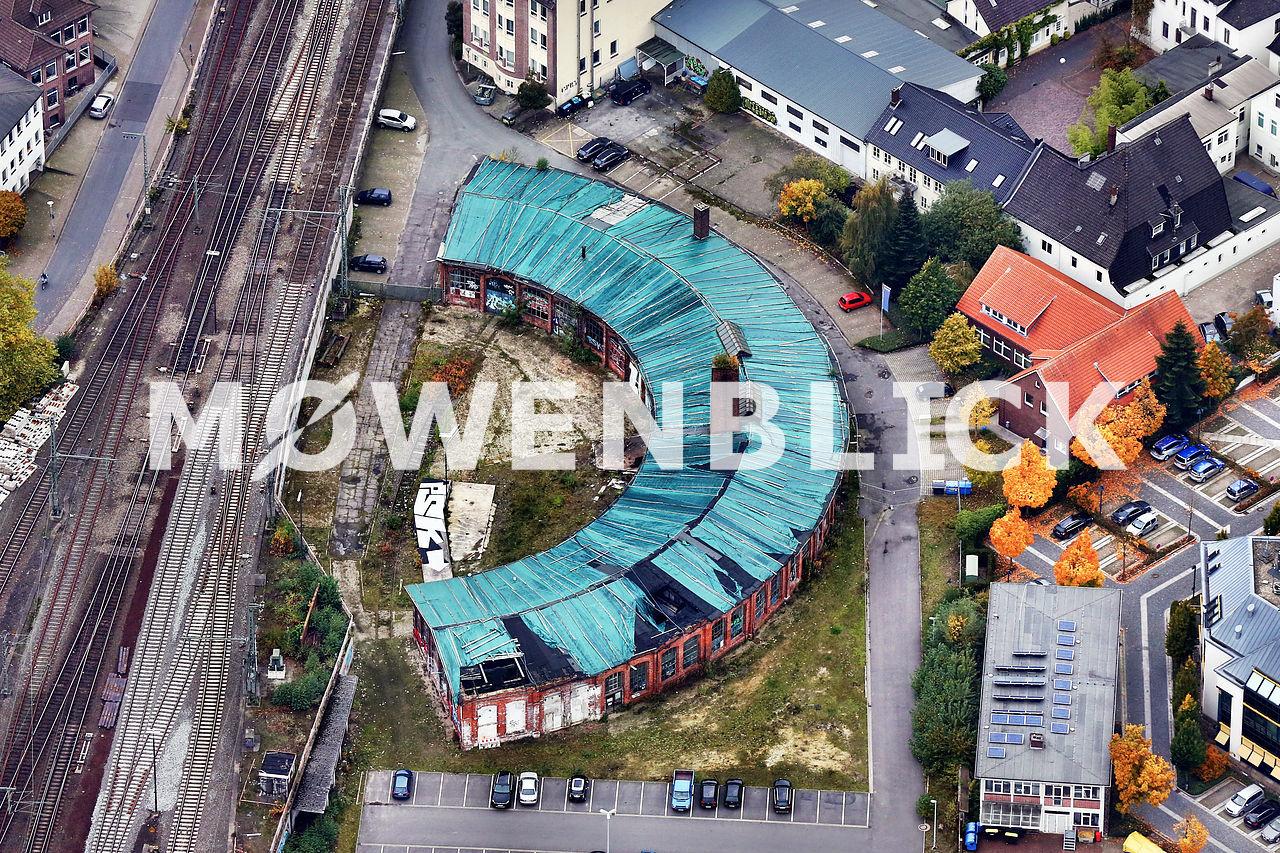 Lokschuppen Oldenburg Luftbild