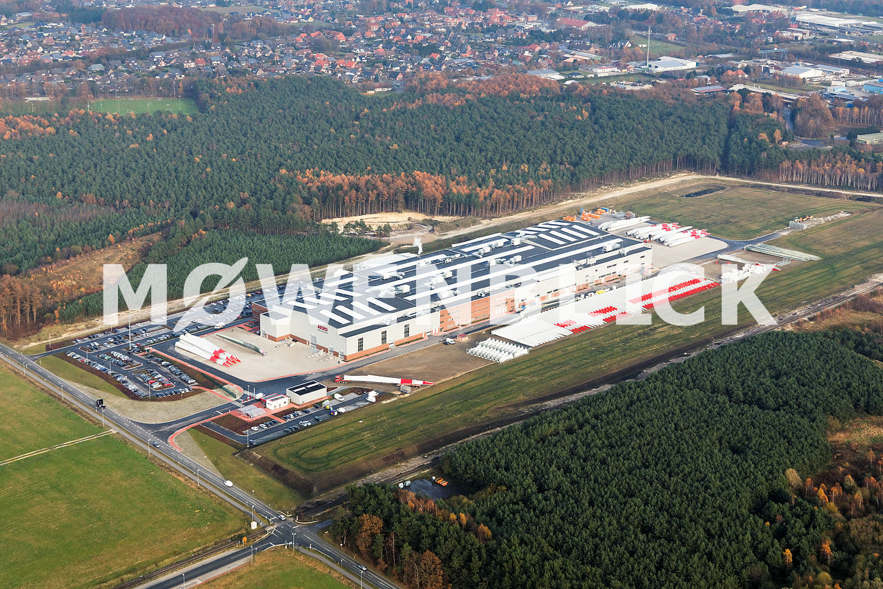 Enercon Aero Ems GmbH  Luftbild
