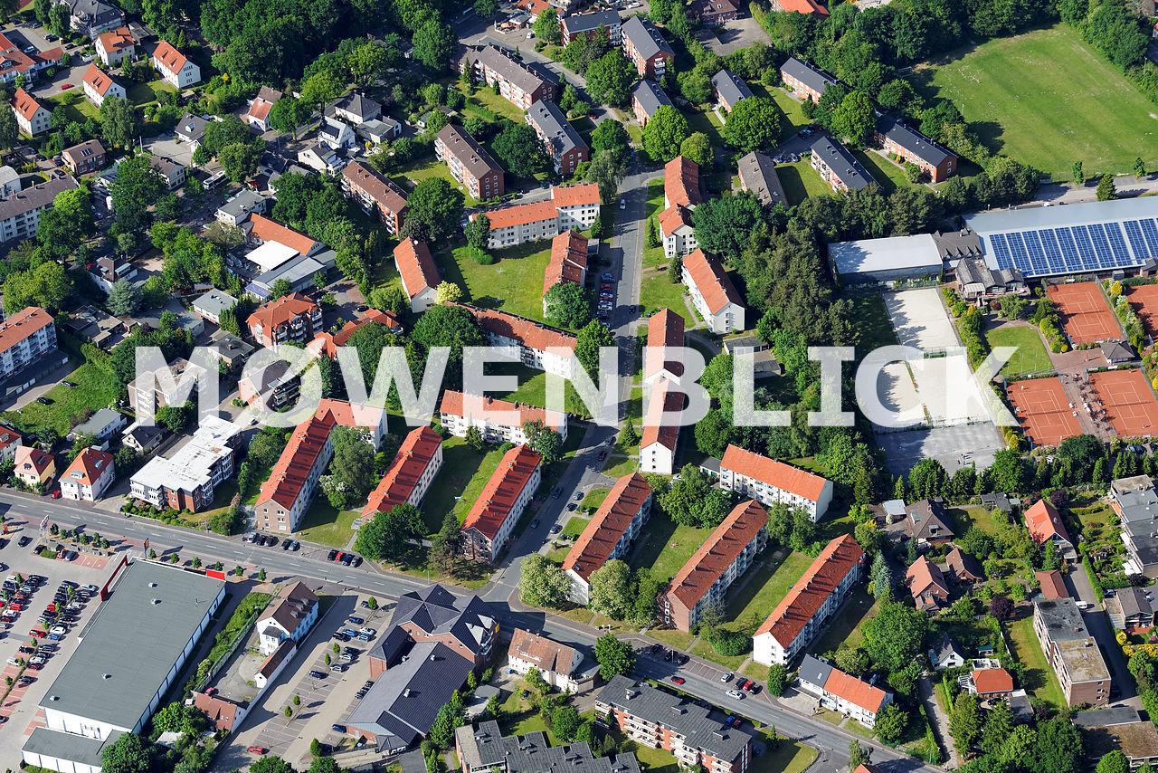 Niebelungenstraße GSG Luftbild