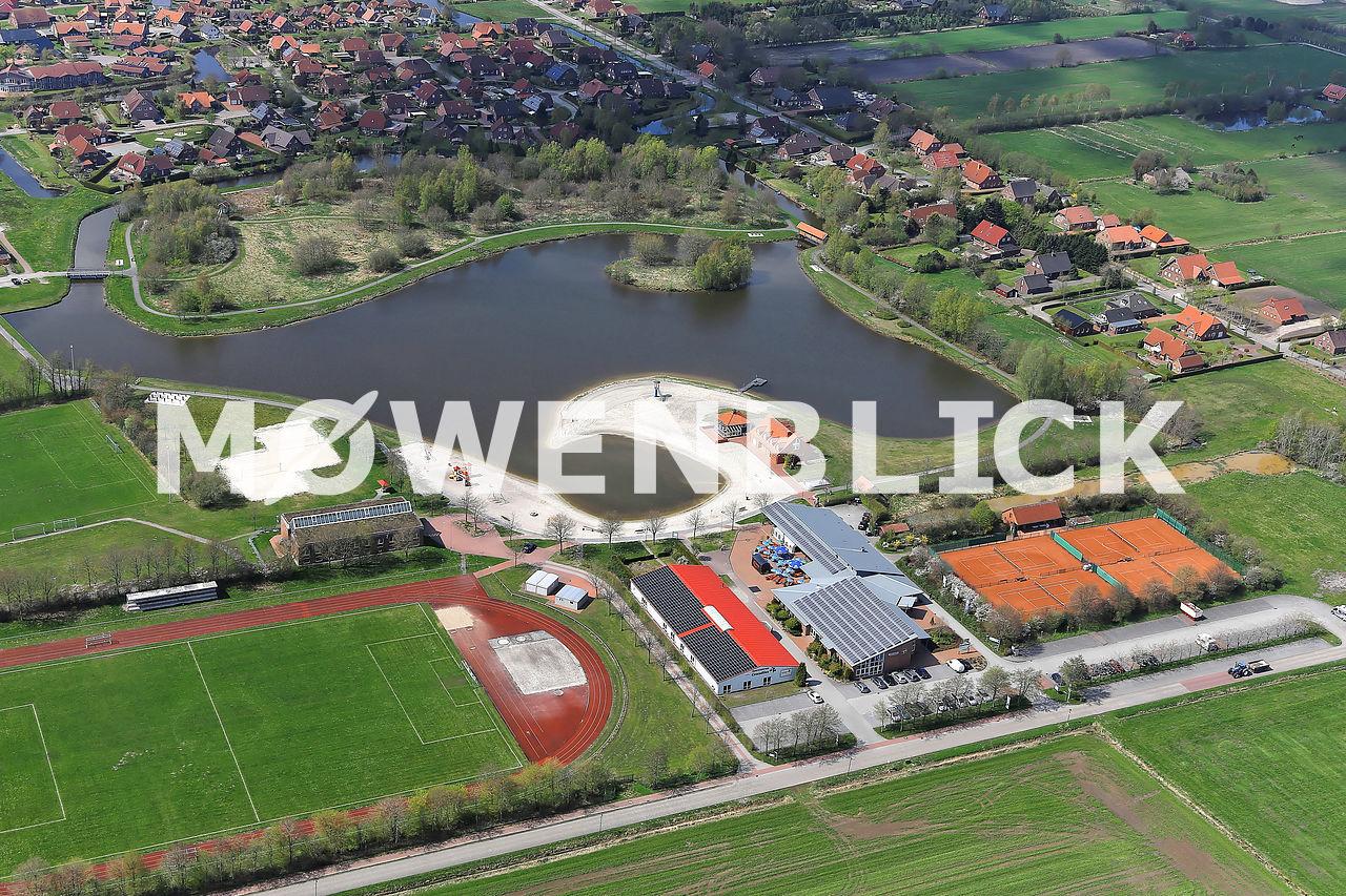 Ihler See Luftbild