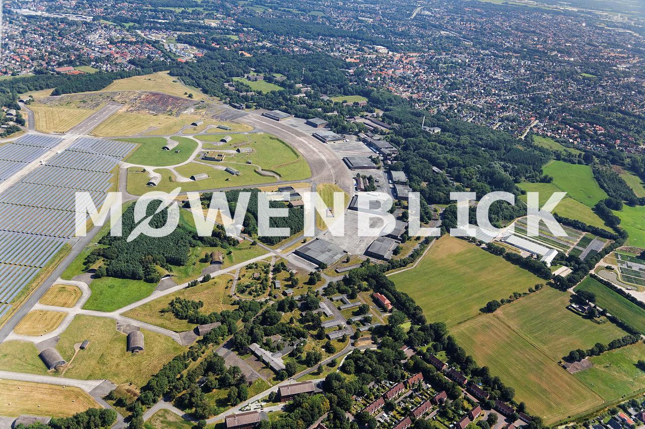 Kasernengelände Fliegerhorst Luftbild