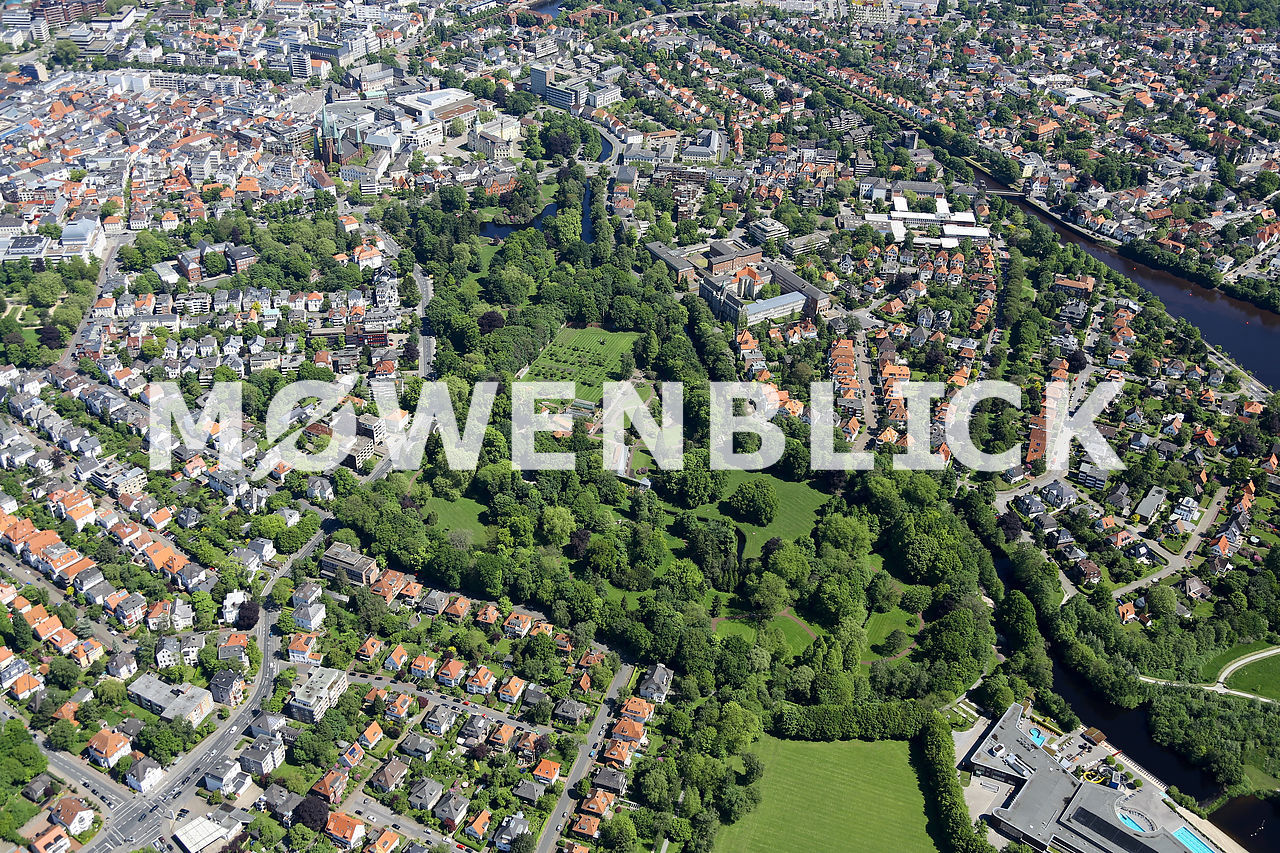 Der Schloßgarten Luftbild
