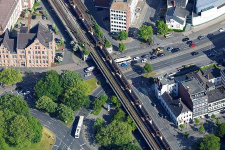 Pferdemarkt Eisenbahnbrücke