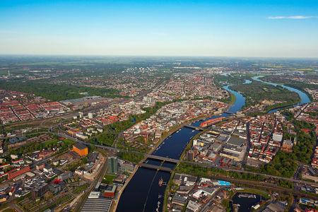 Bremen von oben