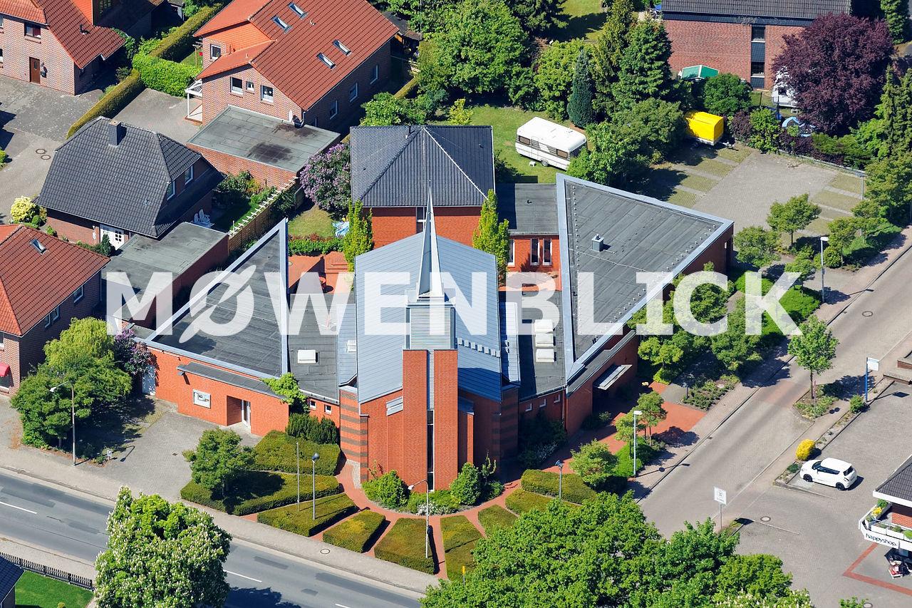 Matthäus - Kirche Hundsmühlen Luftbild