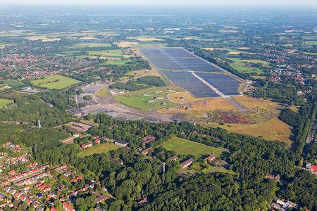 Kaserne und Solarpark