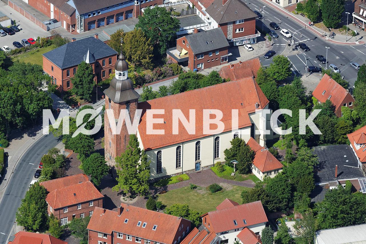St. Andreas Kirche Luftbild