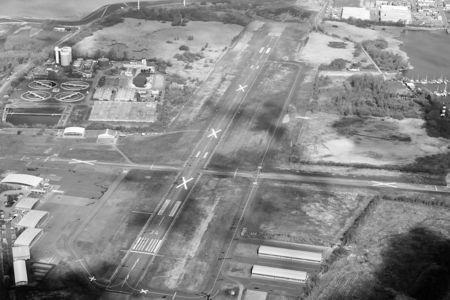 Geschlossener Flugplatz