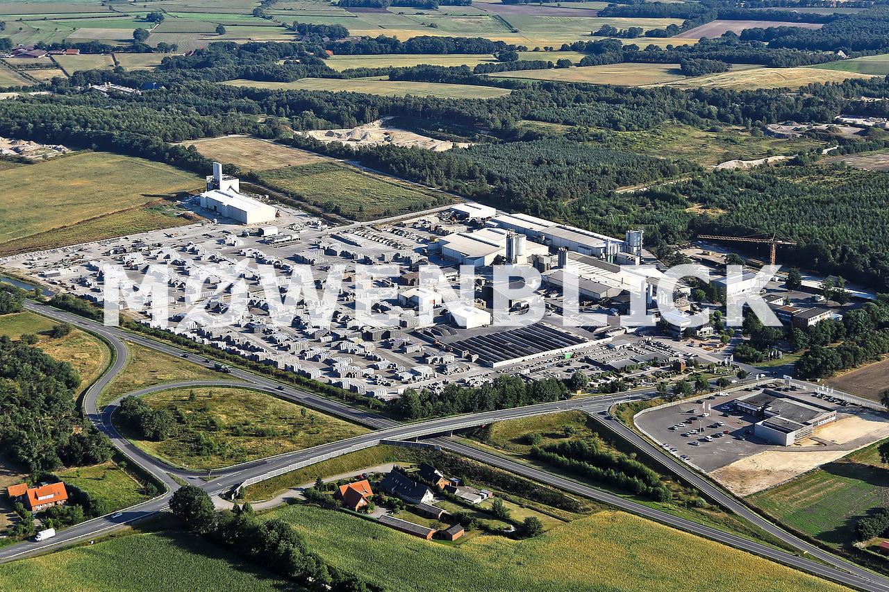 Diephaus Betonwerk Luftbild