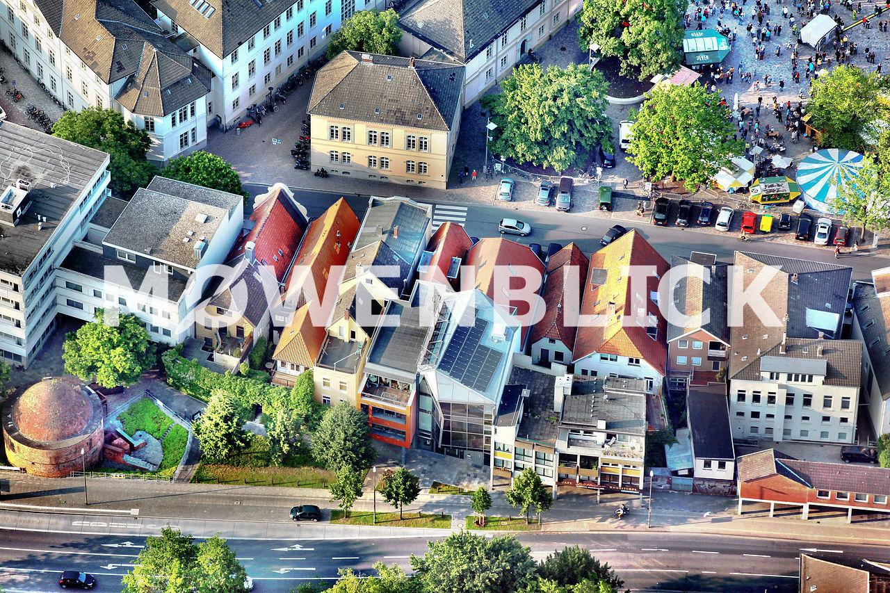 Schloßplatz Luftbild
