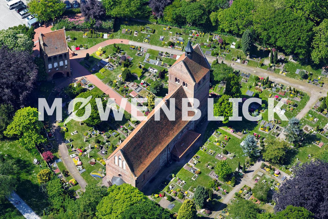 St. Johannes Kirche Luftbild
