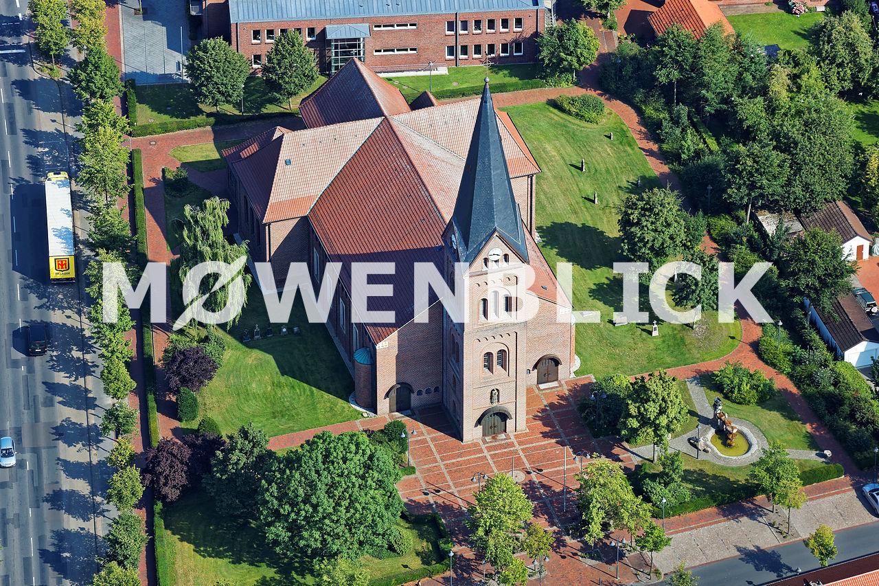 St. Cäcilia Luftbild