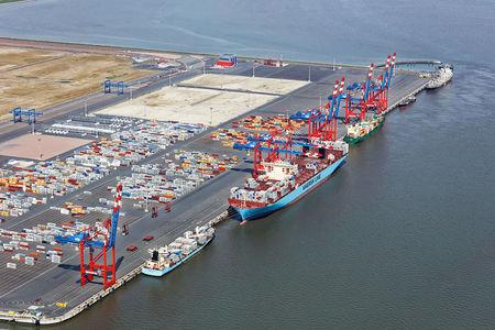 Schiffe am JWP