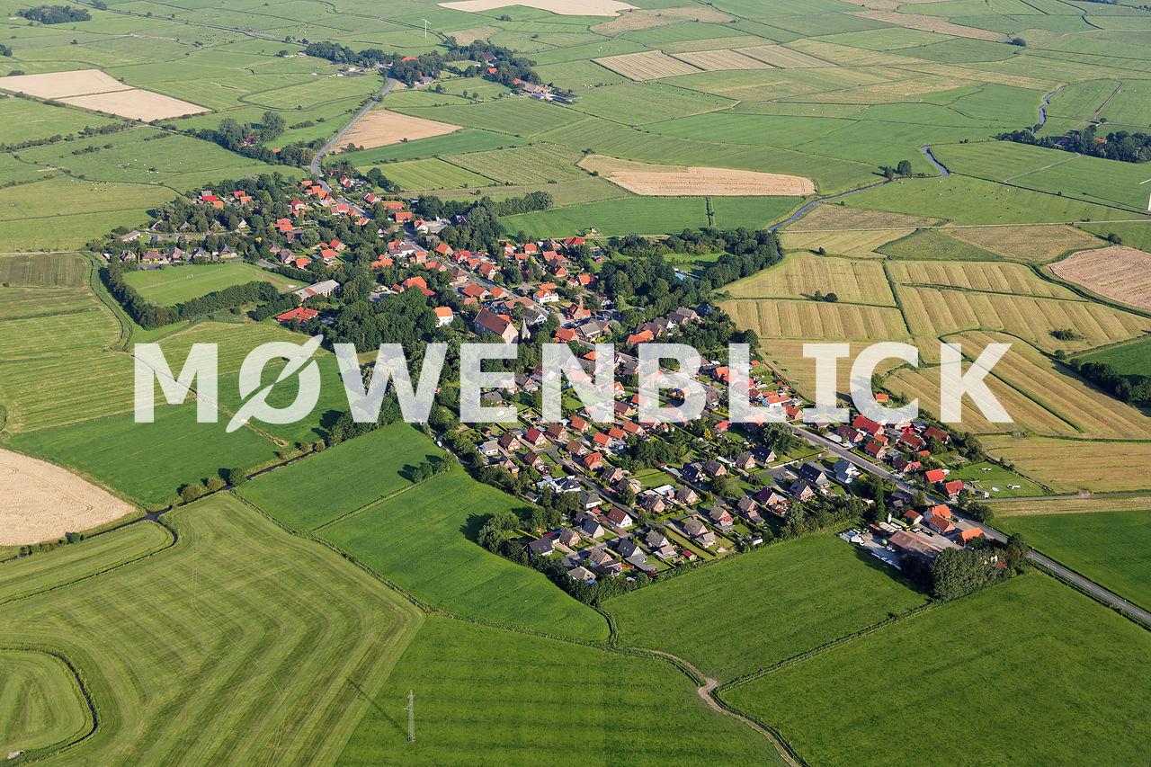 Luftbild Tettens Luftbild