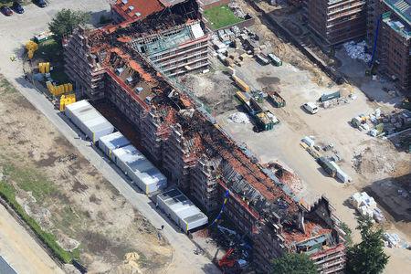 Brand Donnerschwee Kaserne