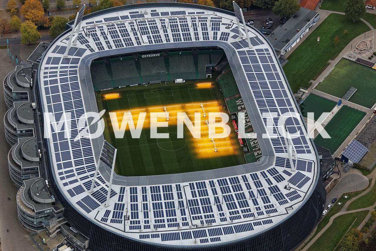 Weserstadion Luftbild