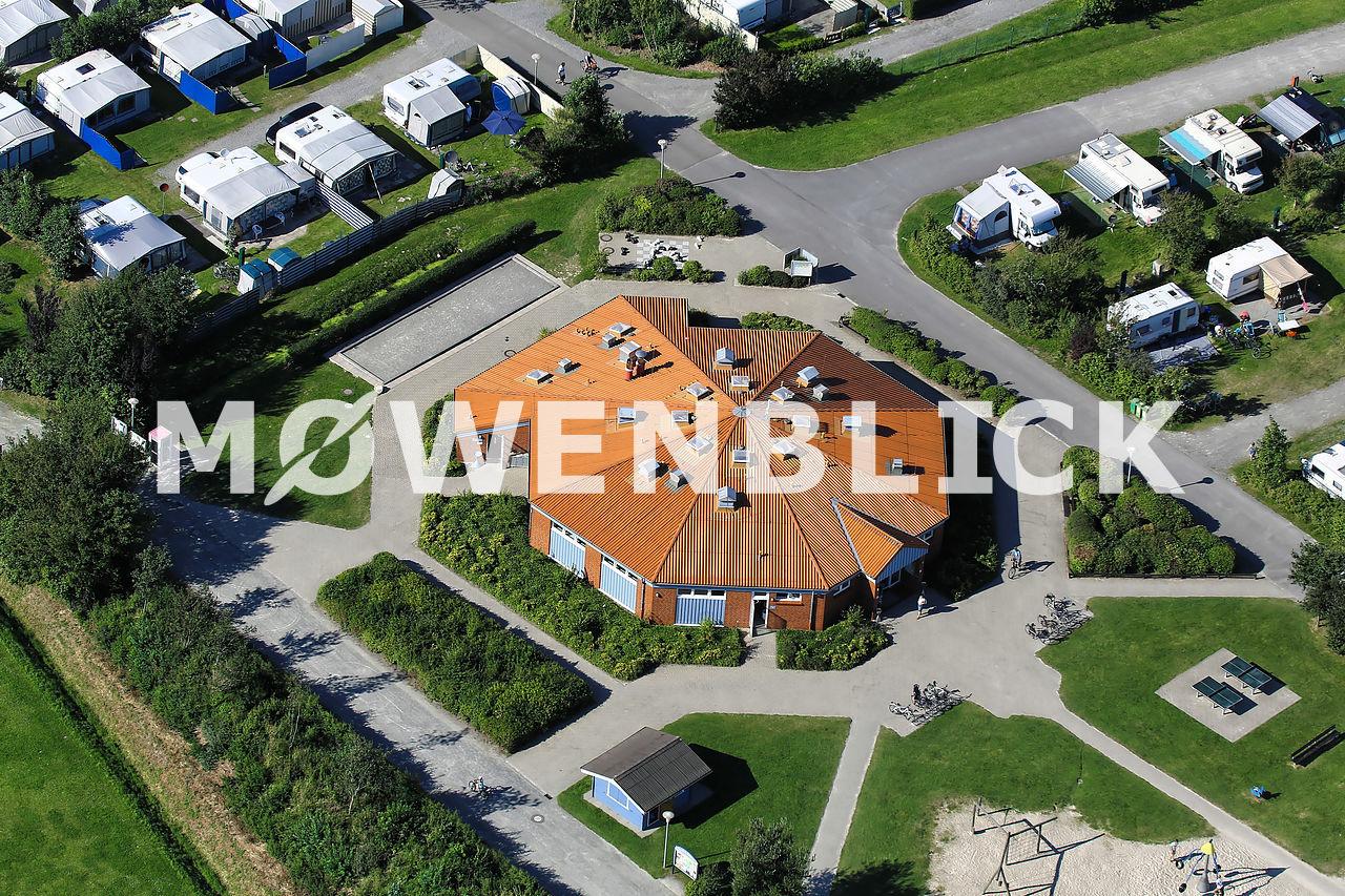 Campingplatz Norddeich Luftbild
