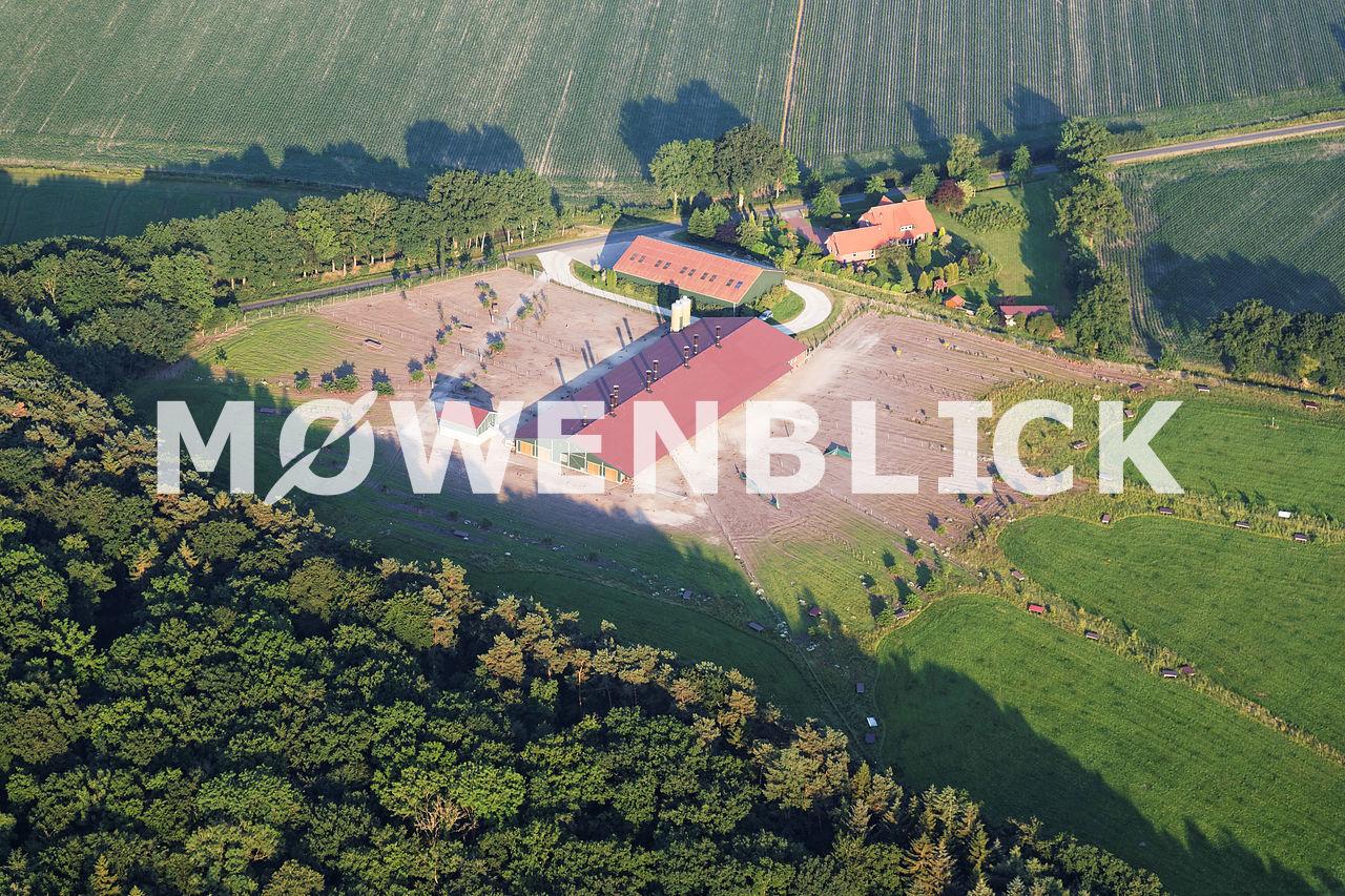 Pferdehof Luftbild
