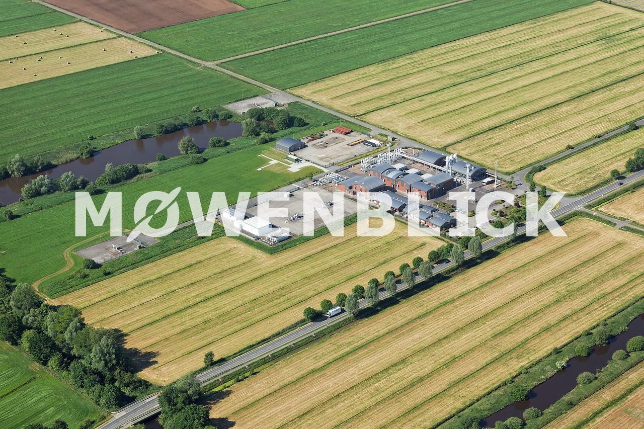 Gasspeicher Huntorf EWE Luftbild