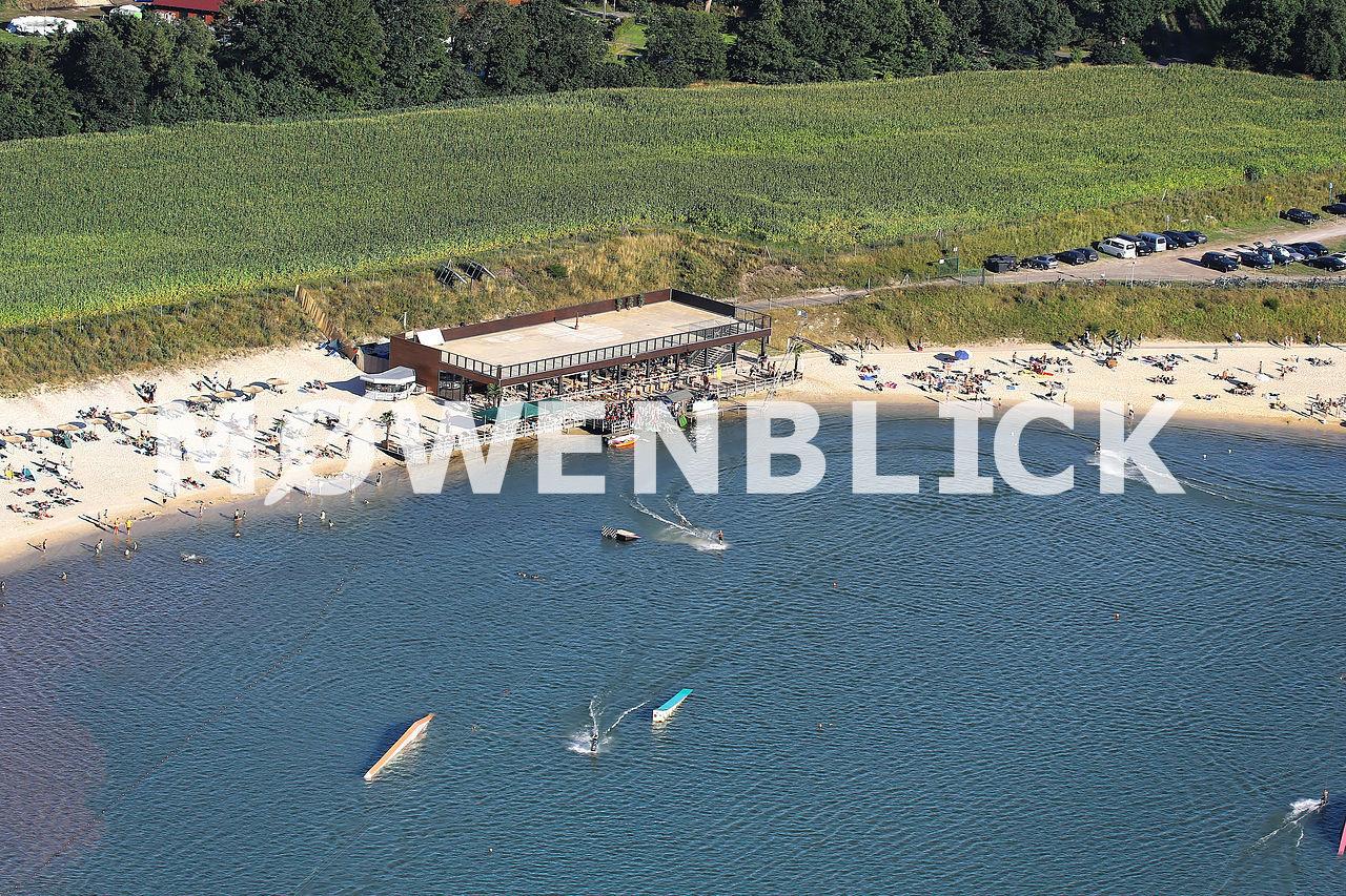 Beachclub Nethen Luftbild