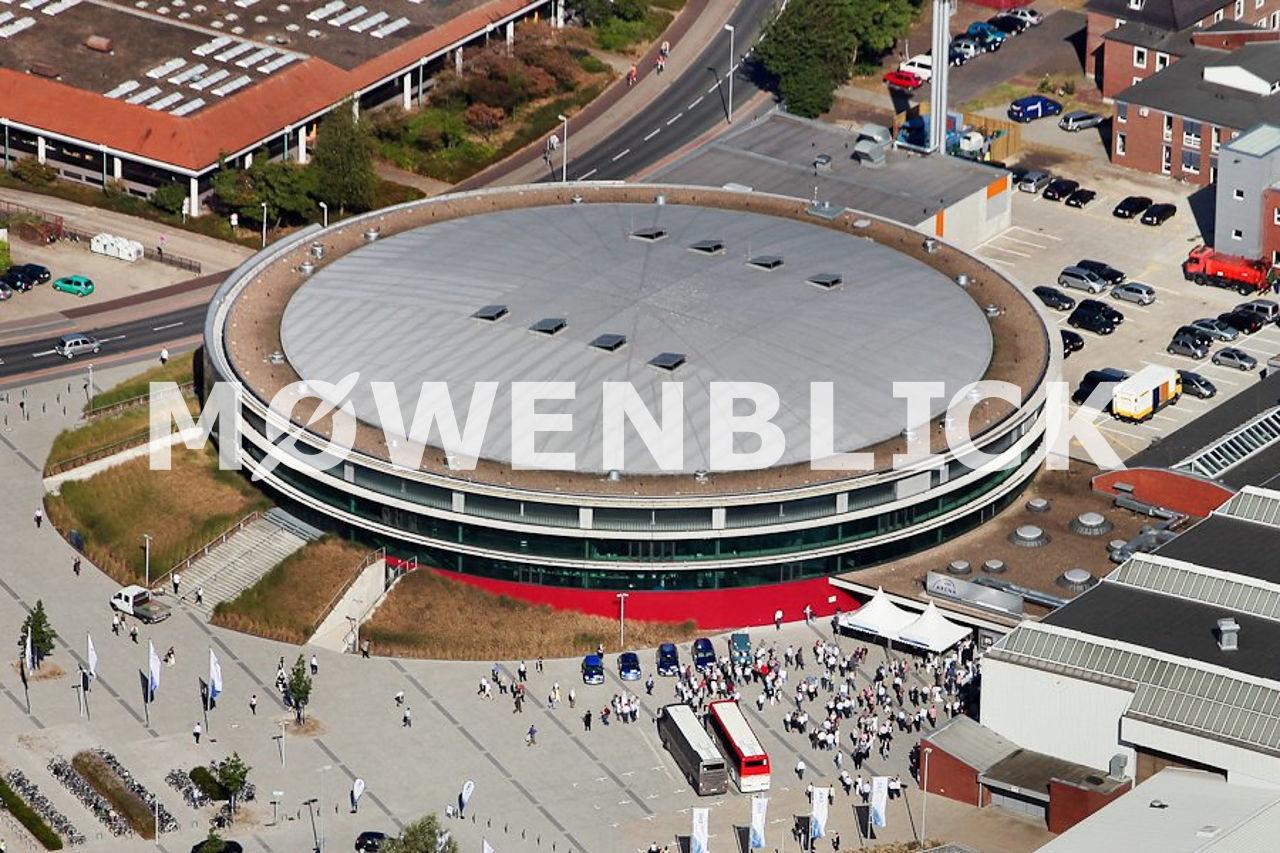 EWE Arena alt Luftbild