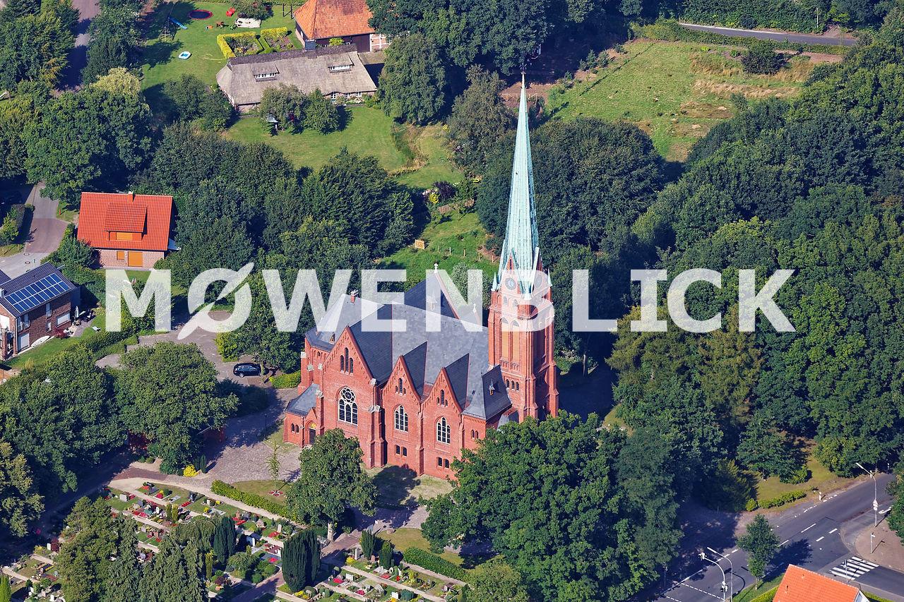 Kirche zu Ohmstede Luftbild