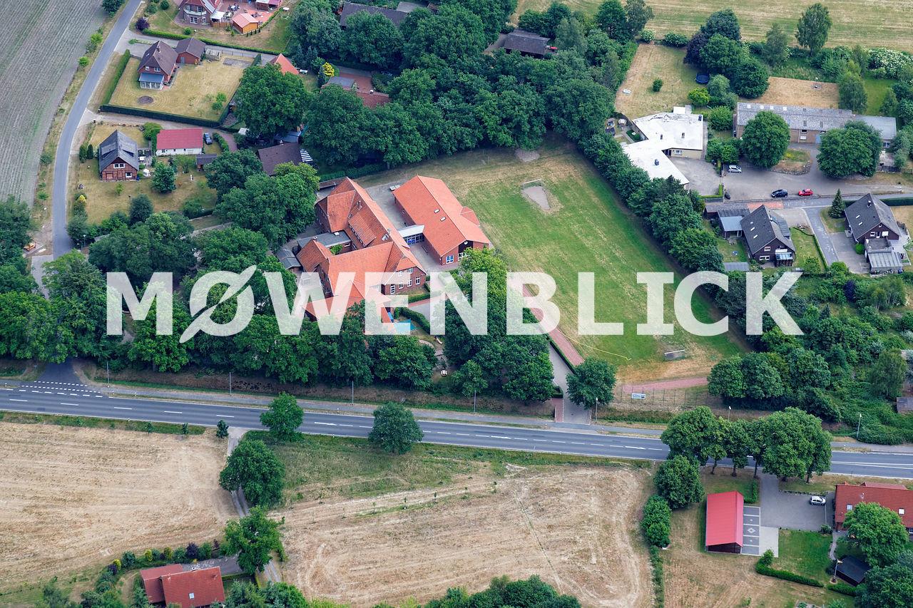Grundschule Luftbild