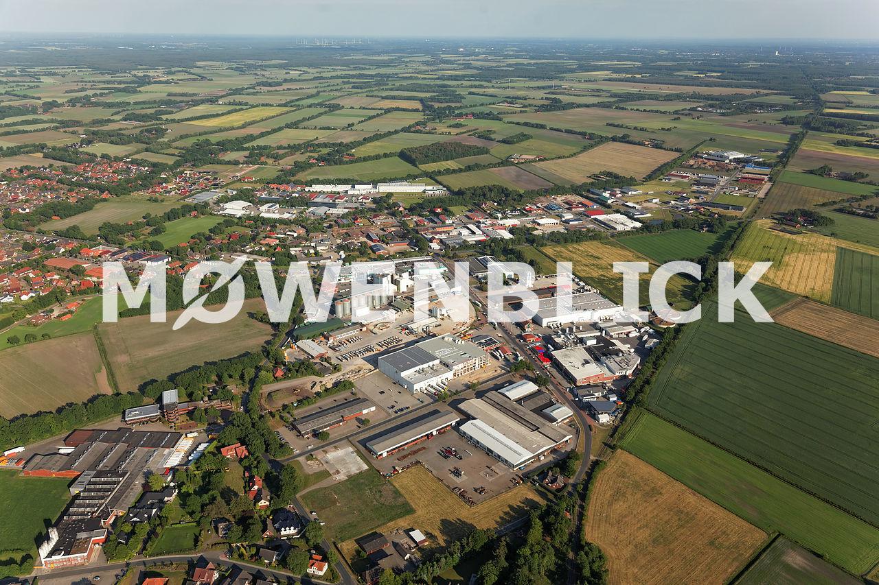 Industriegebiet Garrel West Luftbild