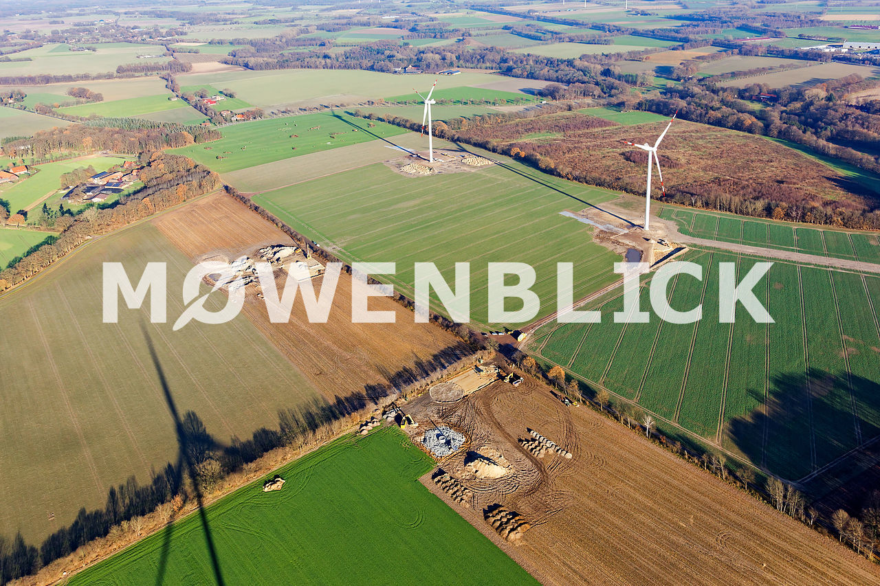 Windpark Iserloy Luftbild